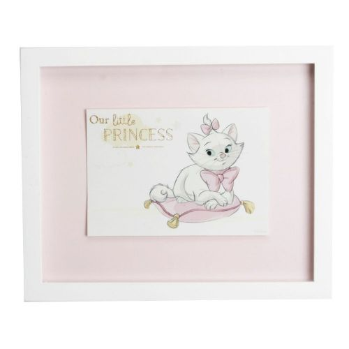 Disney Aristocats Marie Framed Print Wall Art For Nursery Decor